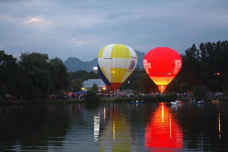 Фестиваль воздушных шаров в Ессентуках